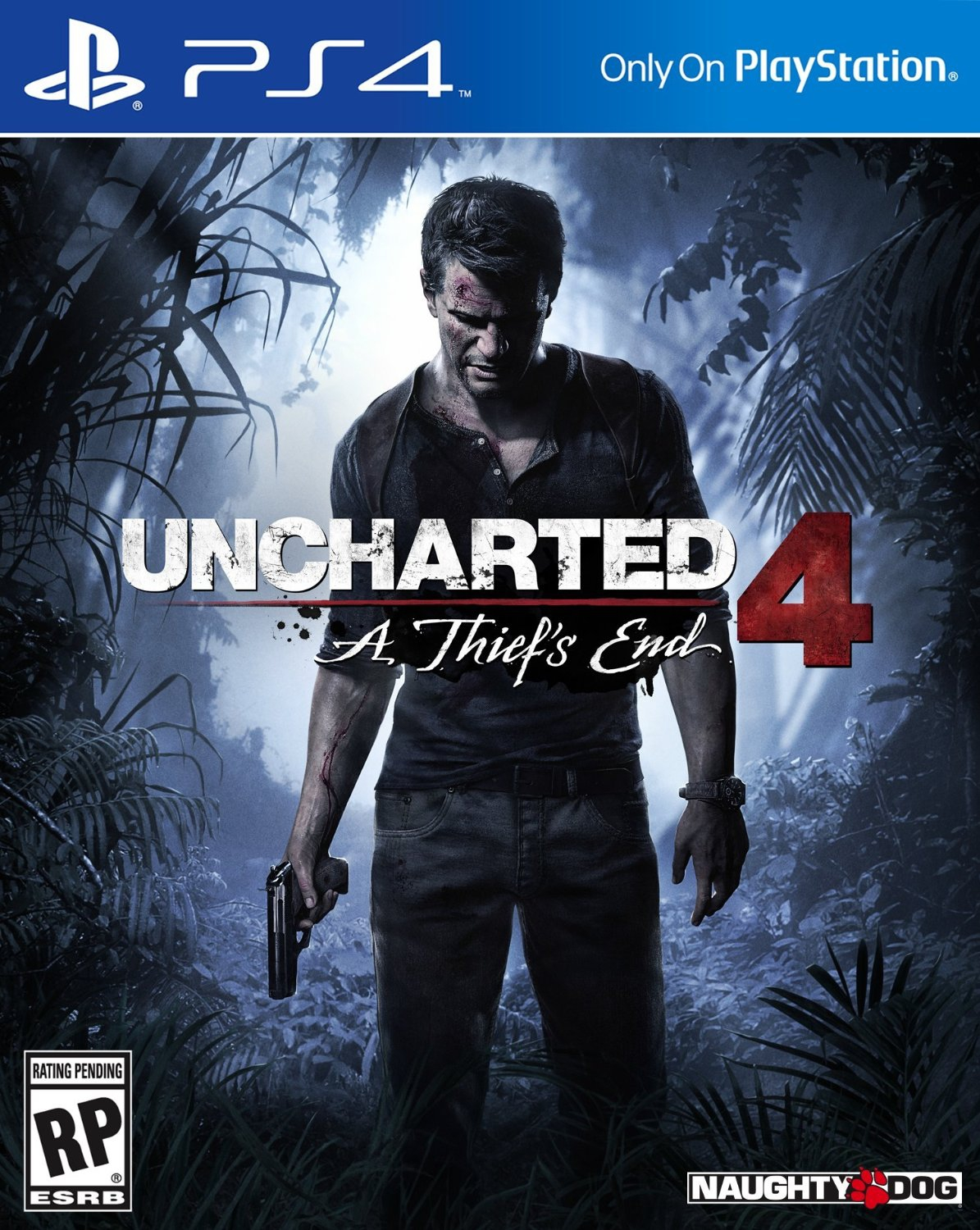 Обложка Uncharted 4: A Thief's End