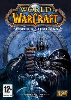 Обложка World of Warcraft: Wrath of the Lich King